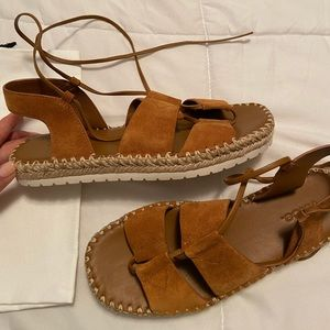 Brand new VINCE sandals. Make offers :)
